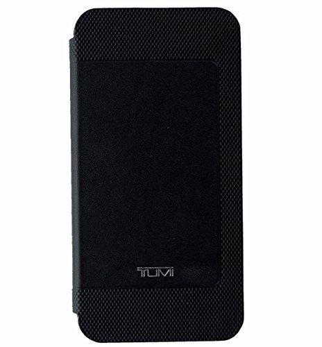 Tumi Black Leather Folio Snap Case for iPhone 6 Plus and iPhone 6S Plus TUIPH-005-LBLK
