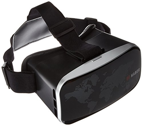 Habor 3D VR Virtual Reality Headset Virtual Video Glasses for Smartphones