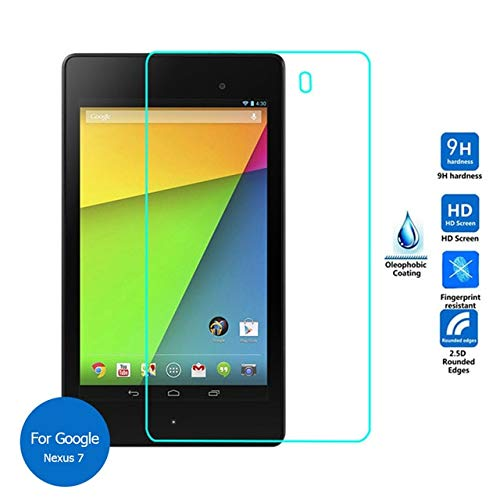 Tuta Tempered Glass with Nano tech Technology 0.26mm Highly Transparency Screen Protector for Google Nexus 7 (Pack of 1)