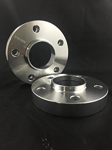"Customadeonly 2 Pieces 0.866"" 22mm Hub Centric Wheel Spacers 5x120 Bolt Pattern 72.6 Center Bore Fits BMW"