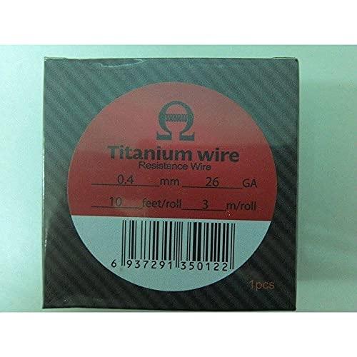 Wotofo Titanium Wire 0,40mm 26GA...