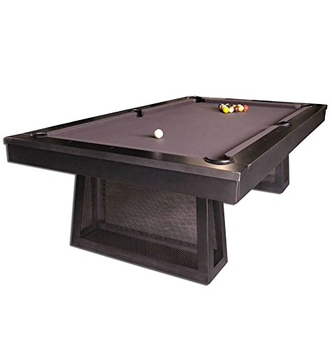 Best Prices! Plank and Hide 8' Ixabelle Steel Pool Table-Installation Included