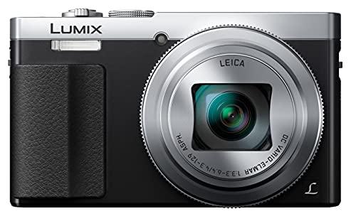 Panasonic Lumix DC-TZ70 - Cámara Compacta de 12,1 MP (Super Zoom, Objetivo F3.3-F6.4 de 24-720mm, Zoom de 30X, Estabilizador Óptico, FHD, Wifi, RAW), Color Plata