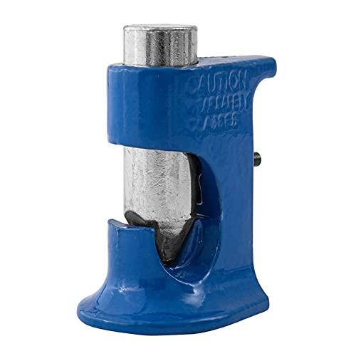 mlloaayo Herramienta De Crimpado De Terminales De Batería Drop Hammer, Crimpadora De Orejetas, Adecuada para Todos Los Tamaños De Cables De Calibre 16-4/0 (Azul)