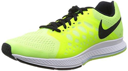 Nike Air Zoom Pegasus 31, Scarpe sportive, Uomo, Amarillo - Yellow (Volt Ice/Black/Volt/Antarctica),...