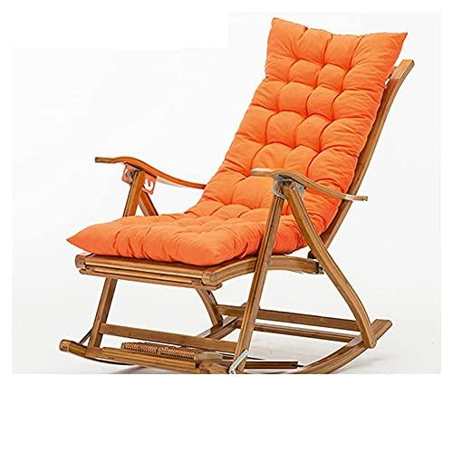 Cojines para tumbonas, Cojines para sillas de jardín de 125 cm, Cojines para Chaise Longue, Cojines para Bancos de Patio, Cojines para Asientos al Aire Libre