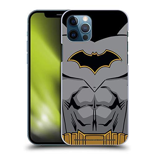 Head Case Designs Oficial Batman DC Comics Disfraz de Renacimiento Logotipos Carcasa rgida Compatible con Apple iPhone 12 / iPhone 12 Pro