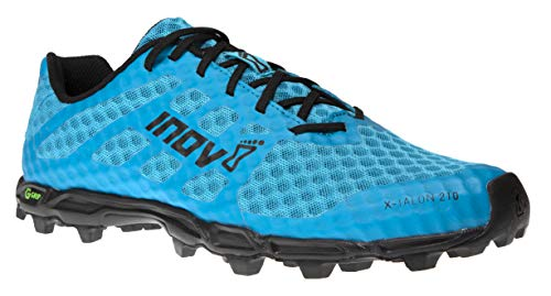 Inov-8 Mens X-Talon G 210 - OCR Shoes - Trail Running - Graphene Grip - Blue/Black - 8