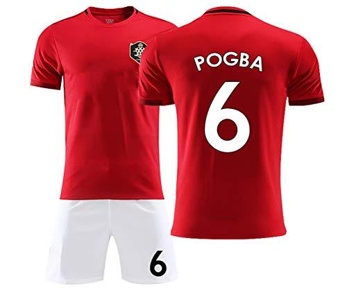 FYDT Ropa de Entrenamiento de fútbol 6# Pogba 7# Alexis Manchester Puede limpiarse repetidamente Ropa de fútbol de Campamento de Entrenamiento Personalizable Adecuada para Adultos y niños