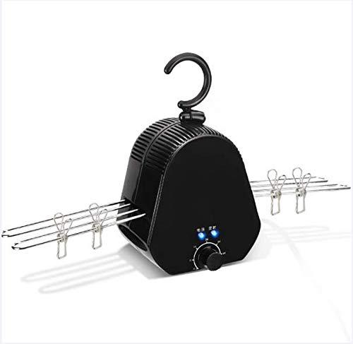 Mini portátil de secado de ropa estantes de secado rápido secador hogar pequeño dormitorio plegable inteligente viaje, negro