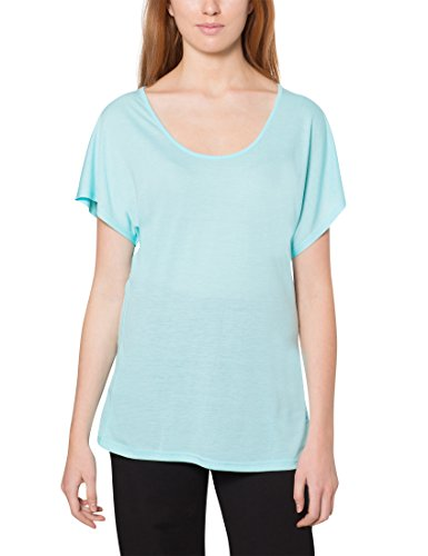 Ultrasport Light Action T-shirt de yoga Femme, Menthe, Small