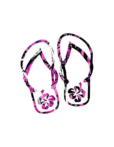Flip Flops Muddy/Yeti decal
