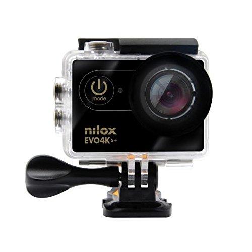 Nilox Evo 4K S+ Cinema Action Camera, Nero