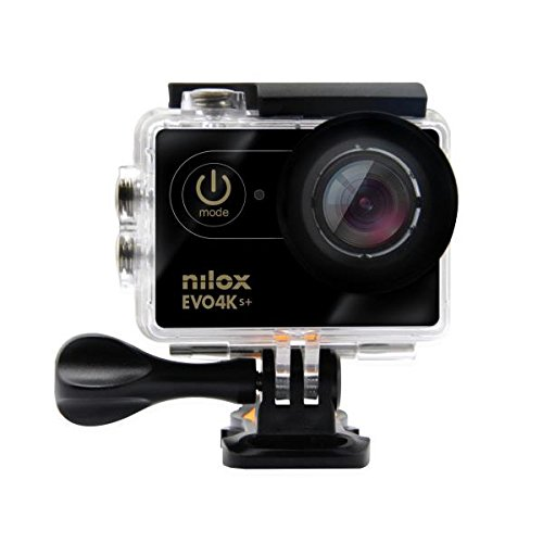 Nilox Evo 4K S+ Cinema Action Camera, Nero