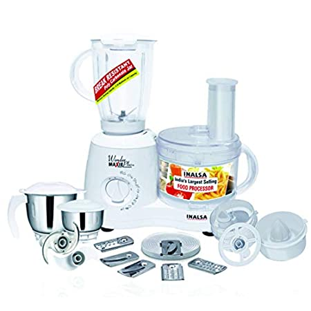 full-sized electric food processor