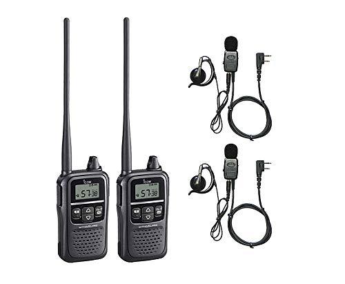 アイコム IC-4188D 同時・中継・交互通話対応 2台セット HD-EM51V�VILオリジナルイヤホンマイク付で同時通話に対応