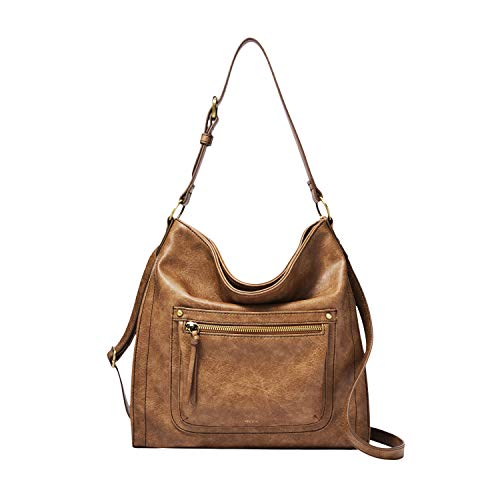 Relic by Fossil Women's Tinsley Convertible Crossbody Handbag, Color: Camel Model: (RLH9009235)