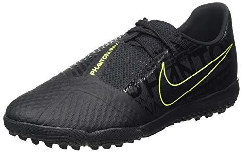 Nike Phantom Venom Academy TF, Football Shoe Mens, Black/Black-Volt, 42 EU