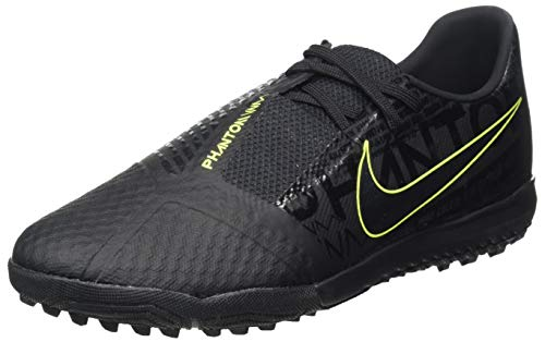 Nike Herren Phantom Venom Academy TF Fußballschuh, Black Black Volt, 40 EU