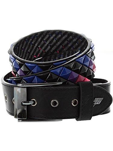 Lowlife Armor Leather Belt Pink Purple