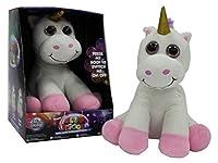 Miri Moo Super Soft Glow Unicorn Teddy Multi Colour Changing Nightlight Led