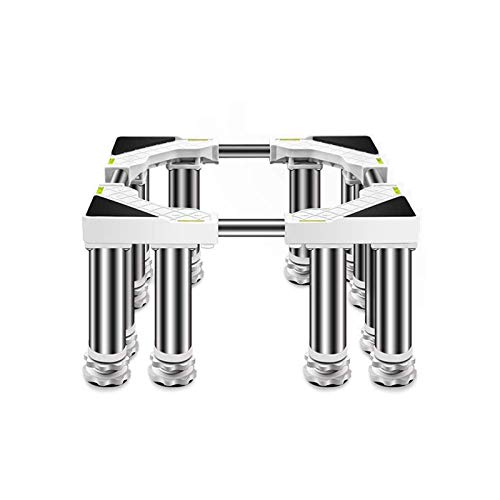 Soporte de la base de la lavadora, soporte de nevera Base de lavadora, lavadora base ajustable multifuncional y secadora Soporte de soporte para electrigerianos Soporte de pedestal ( Size : 19-22cm )