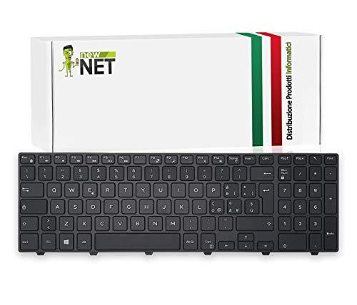 New Net Keyboards - Tastiera Italiana Compatibile per Notebook dell Vostro 15 3000 3549 3558 Latitude 15 3000 3550 3560 3570
