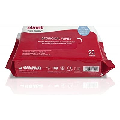 Clinell EA578 Sporicidal Wipes by Clinell