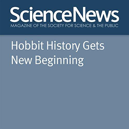 Hobbit History Gets New Beginning audiobook cover art