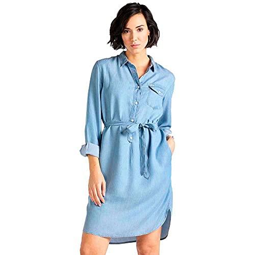 Lee Essential Dress Vestido, Azul (Summer Blue NJ), L para Mujer