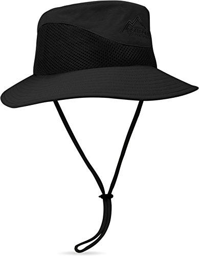 normani Outdoor Sonnenhut Breeze mit UV-Schutz Farbe Schwarz Größe XL