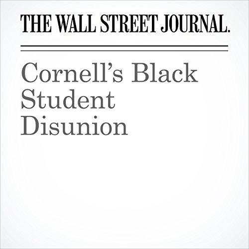 Cornell's Black Student Disunion copertina