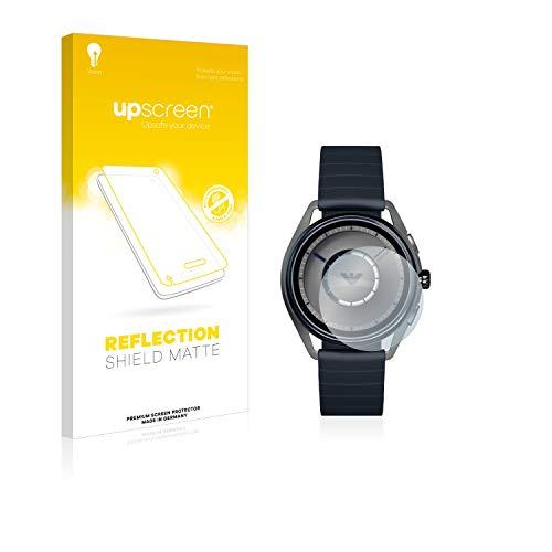 upscreen Entspiegelungs-Schutzfolie kompatibel mit Emporio Armani Connected Smartwatch ART5009 – Anti-Reflex Bildschirmschutz-Folie Matt
