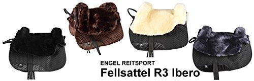 Engel Reitsport Fellsattel R3 Ibero anthrazit grau Lammfell Sattel - 3
