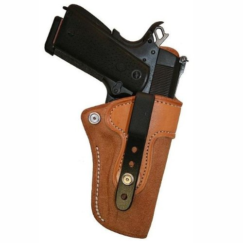 Right Hand - Tucker & Byrd L4 Leather Tuckable IWB Holster - S&W M&P Shield