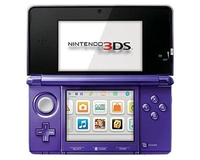 Nintendo 3DS Midnight Purple - Nintendo 3DS