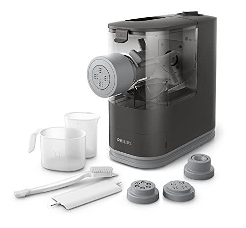 Philips, HR2334/12, Viva Collection, elektrische Pasta- und Ravioli-Maschine, grau