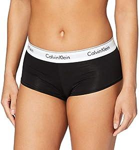 Calvin Klein 0000F3788E Ropa Interior, Negro 001, Medium para Mujer