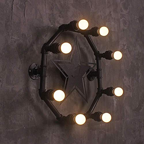 Mkjbd wandlamp tuinlamp wandlamp wandlamp wandlamp wandlamp wandlamp wandlamp wandlamp ijzeren buizen industriële lamp