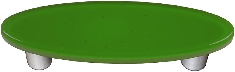 Oval Pull in Light Green (Aluminum)