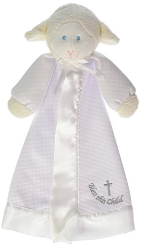 Mary Meyer Christening Lamb Blanket - 14 Inches