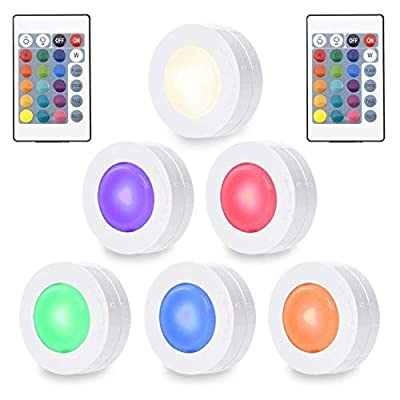 SOLLED Puck Lights-6 Pack