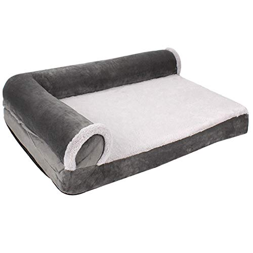 Generie Paw Pet Sofa Dog Beds Waterproof Bottom Soft Fleece Warm Cat Bed House Petshop cama perro