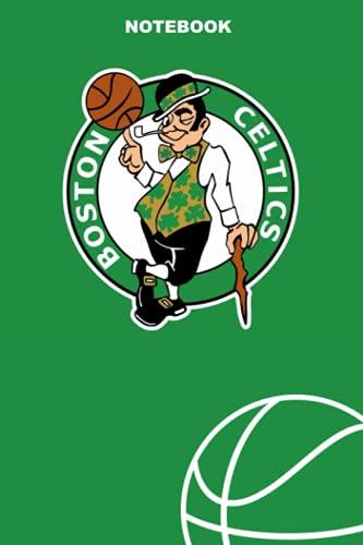 Boston Celtics: Boston Celtics Notebook & Journal & Composition Book & Logbook College Ruled 6x9 110 page   NBA Fan Essential   Basketball Fan Appreciation