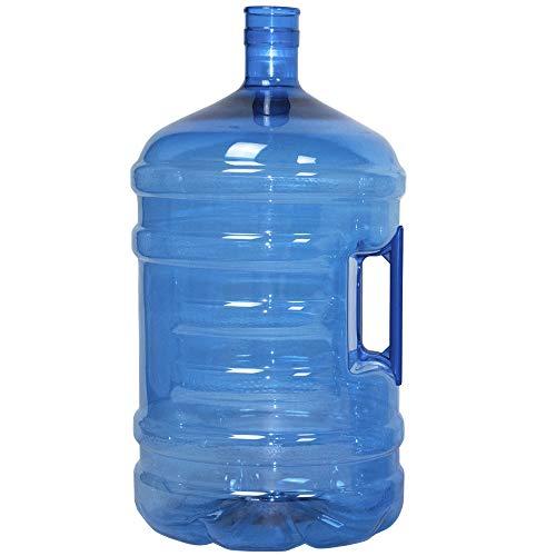 Botellón de 20 litros, para Agua. Compatible con Tapones de 5 galones. Apto para dispensadores de Agua. Color Azul. Libre de bisfenol-A