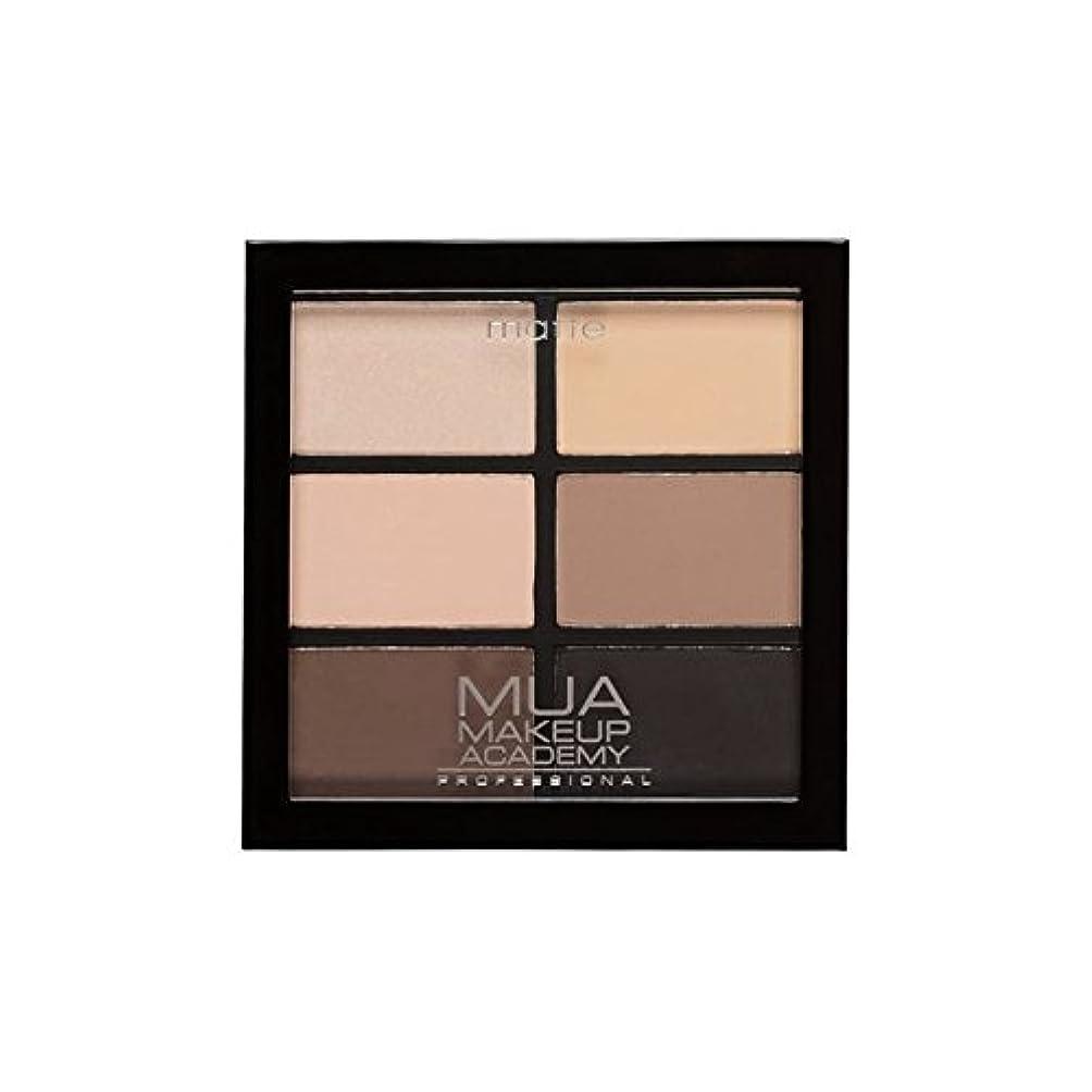 スティーブンソン環境保護主義者信頼プロ6日陰パレット自然の必需品 x2 - MUA Professional 6 Shade Palette Natural Essentials (Pack of 2) [並行輸入品]