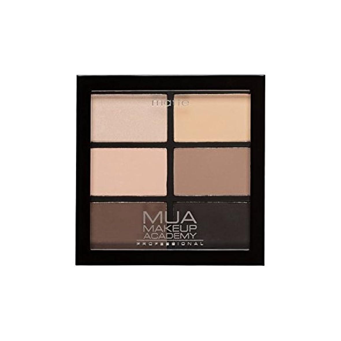 正直可能にする保証するプロ6日陰パレット自然の必需品 x4 - MUA Professional 6 Shade Palette Natural Essentials (Pack of 4) [並行輸入品]