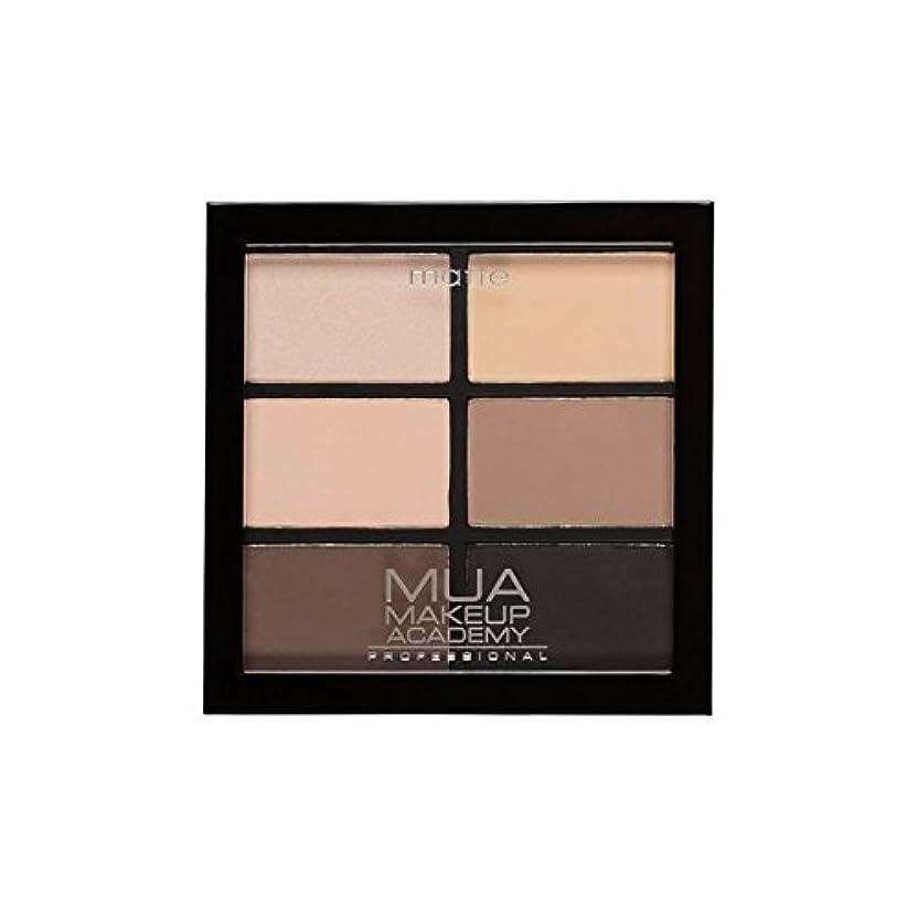 不透明なユダヤ人効果的にMUA Professional 6 Shade Palette Natural Essentials - プロ6日陰パレット自然の必需品 [並行輸入品]