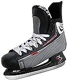 SULOV - Patines para Hielo, para Hockey sobre Hielo, de Hombre, Color Negro, tamaño 46