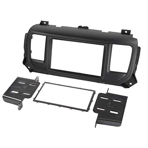 Kit Support Autoradio pour Citroen Jumpy 3 Peugeot Expert 3 Toyota Proace Verso Opel Zafira Life - ADNAuto